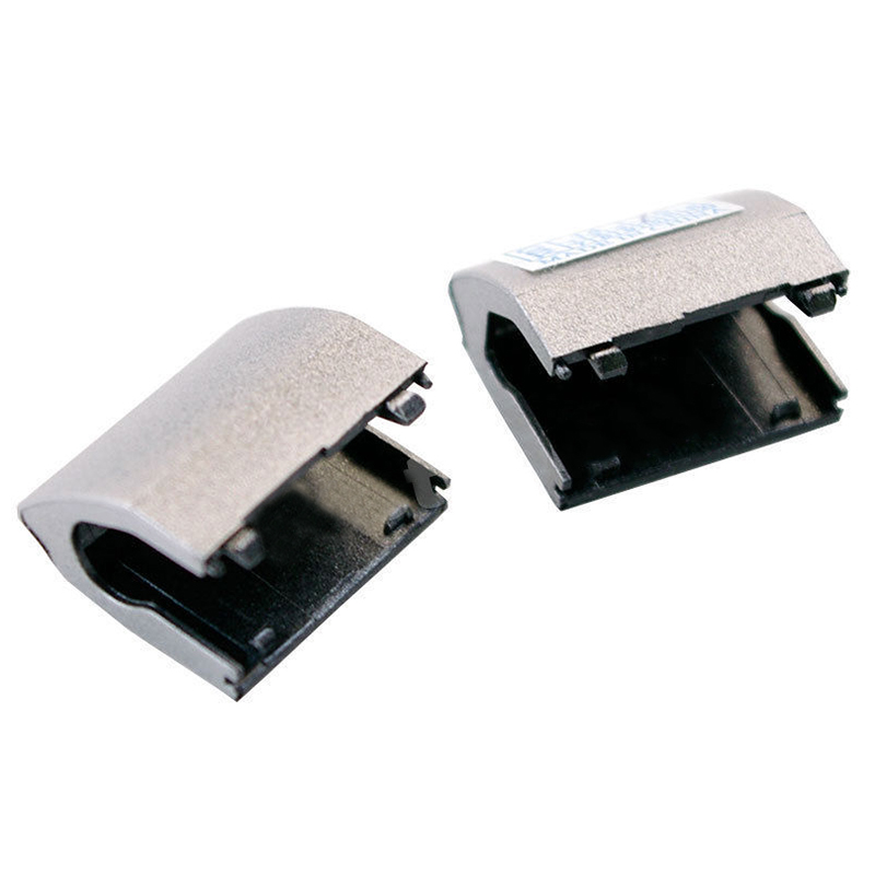 New For Dell Inspiron 15R-5521 15R-5537 Set Of Left+Right Hinge Covers In Silver