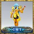 LC Modelo Afrodita de Piscis Oro Saint Seiya Myth Cloth Ex Afrodita de Piscis Figura de Acción