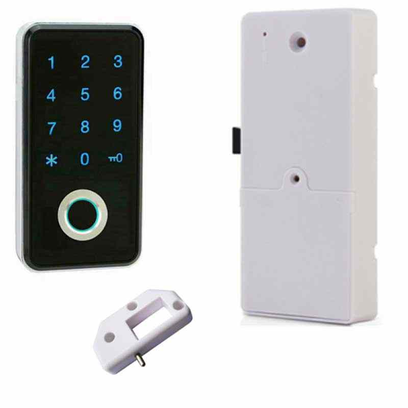 Piccola Smart Password di Elettronica Keyless Mini Biometrico di Impronte Digitali Cabinet/Porta/Armadio/Cassetto Serratura Armadio Per La Casa/ ufficio/Palestra