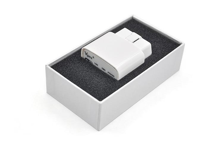 Оригинальный Vgate iCar ELM327 OBD считыватель кодов iCar Elm 327 автоматический сканер OBD диагностический интерфейс для Android IOS