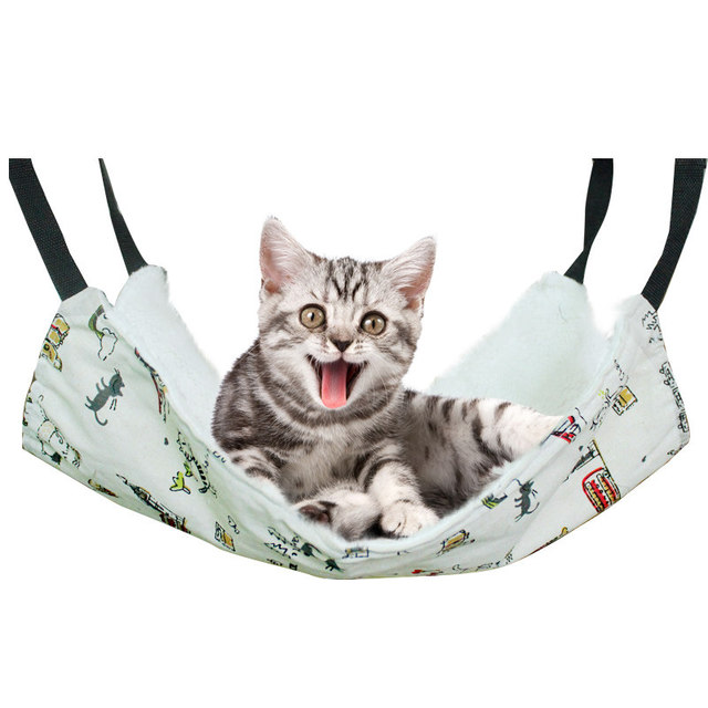 cat hammock hammock cat litter cat cage hanging large bed angelo sable pet winter thickening hammock cat hammock hammock cat litter cat cage hanging large bed angelo      rh   aliexpress