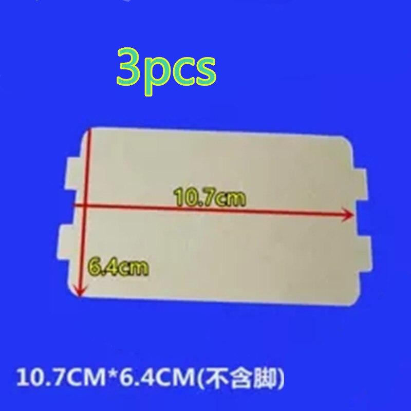 3 Teile/los Mikrowelle Teile Glimmerplatte 6,4x10,7 Cm