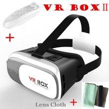 Hot Sell Google Cardboard Virtual Reality Helmet VR Box II 2.0 Oculus Rift VR Glasses 3D Movies / Games / Home Theater Headphone