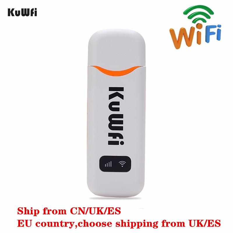 4G LTE WCDMA EVDO desbloqueado USB WiFi Enrutador Hotspot de red de bolsillo Módulo inalámbrico de 150 Mbps con ranura para tarjeta SIM Soporte FDD B1 B3