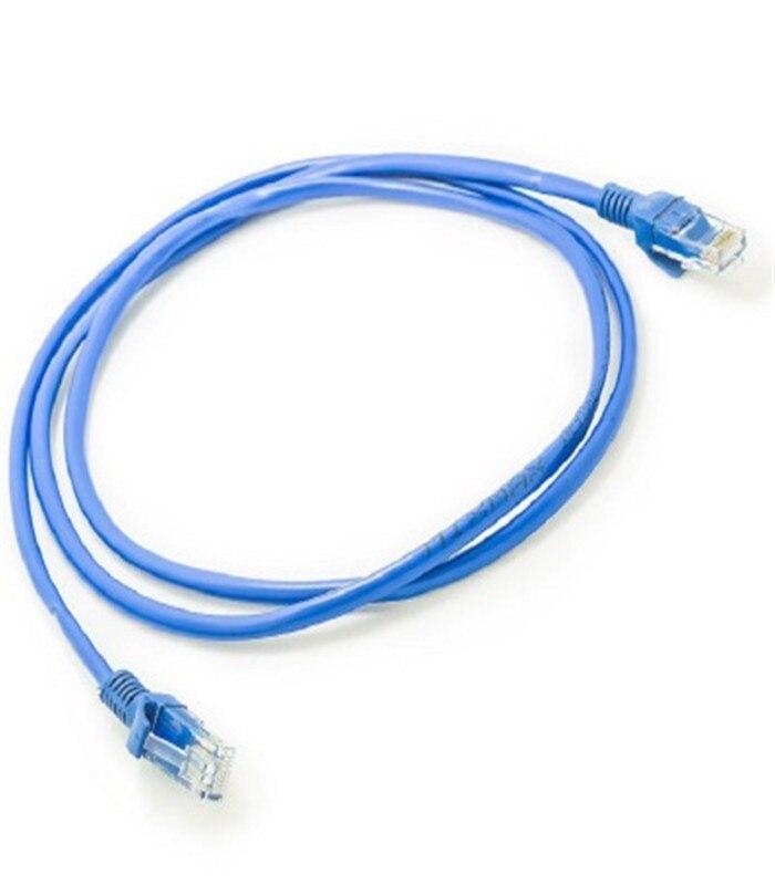 Finito cavo di rete con la testa di cristallo router a banda larga linea di collegamento 1 m-50 m di rete YMY01Finito cavo di rete con la testa di cristallo router a banda larga linea di collegamento 1 m-50 m di rete YMY01