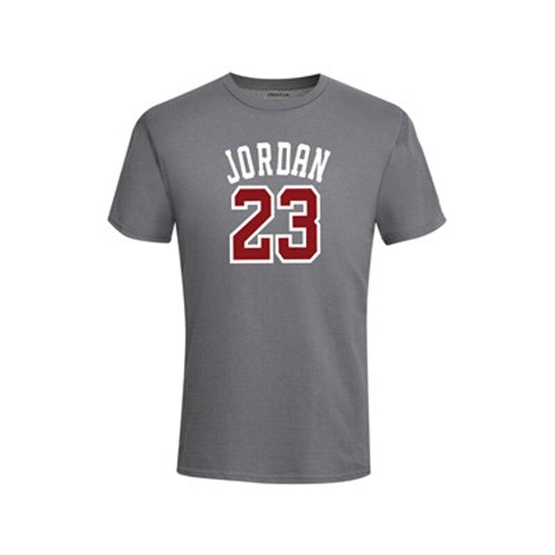 2018 Sommer Heißer Verkauf Neue T Jordan 23 Druck Männer Swag T-shirt Top Qualität Baumwolle Jordan 23 Hüfte Hop Kurze Hülse T Hemd Männer 100% Original