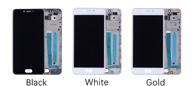 5.0 Black White Original M3S Mini LCD For MEIZU M3S Display Touch Screen with Frame M3 S LCD Screen Y685H Replacement (9)