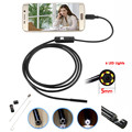6 LEDs 5MM Lens USB Endoscope Camera IP67 Waterproof Snake Inspection Borescope Video Tube Pipe USB MINI Camera 2M for Android