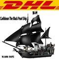 2017 Nueva LEPIN 804 Unids Piratas Del Caribe El Negro perla Nave Modelo Kit de Construcción de Ladrillos de Juguete Bloques Compatible Juguete 4184