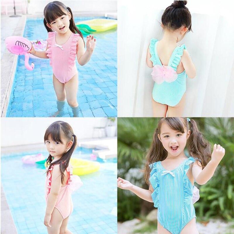Nieuwste Leuke Baby Meisje Badmode Een Stuk Kids Meisjes Badpak Kid - Babykleding - Foto 6