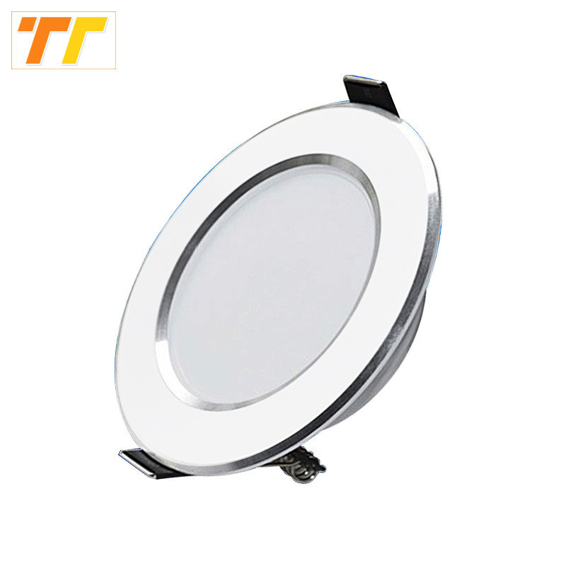 High quality LED downlight 3W 5W 7W 9W 12W 15W LED light indoor lamp AC230V 110V living room lamp Warm white Cold White for home