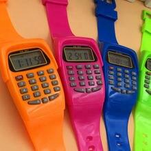 Цифровой калькулятор noyokere с функцией светодиодных часов