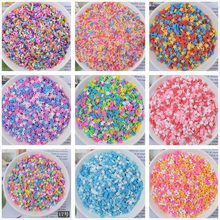 100g/bag Slime Clay Sprinkles Filler DIY Supplies Candy Fake Cake Dessert Mud Decoration Toys Accessories(China)