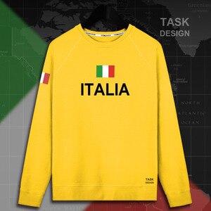 Image 4 - Italy Italia Italian ITA mens hoodie pullovers hoodies men sweatshirt new streetwear clothing Sportswear tracksuit nation flag