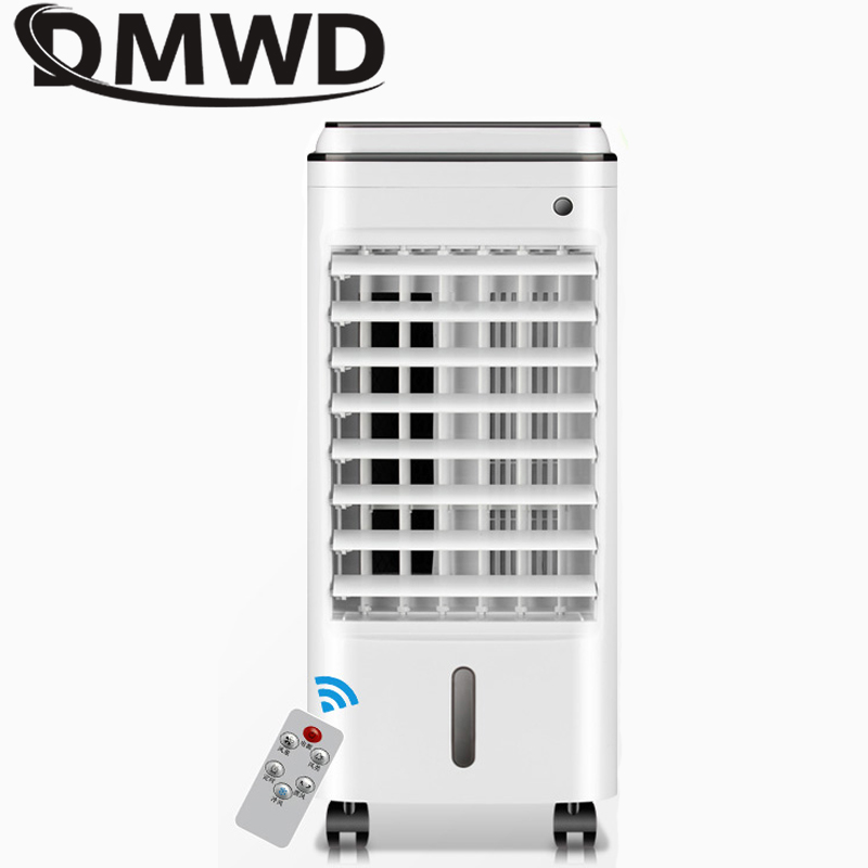 DMWD Air conditioning fan water-cooled chiller electric cooling fan remote timing cooler Humidifier air conditioner fans EU US air conditioning