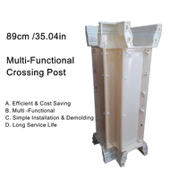 89cm (35.04in) Multi Functional Cast in Place Balcony & Gardening Lotos Crossing Concrete Post Mold
