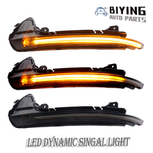 LED Flowing Rear View Dynamic Sequential Mirror Turn Signal Light For Audi A4 B8.5