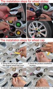 Image 5 - Tapacubos de centro de rueda con logo de Renault, reajuste de llanta, a prueba de polvo, pegatina decorativa, 4 Uds., 56mm, 60mm