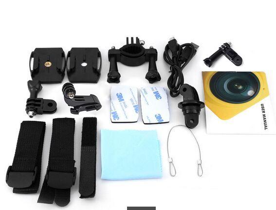 ถูก Winaitใหม่WiFi 1280*1042 28fpsมินิ360x220องศากับHD 360 D Panoramic VRกล้องวิดีโอ360องศากล้องวิดีโอCUBE360