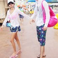ummer big code striped hooded bask in clothes breathable sunscreen couples dress long sleeved jacket parent-child attire