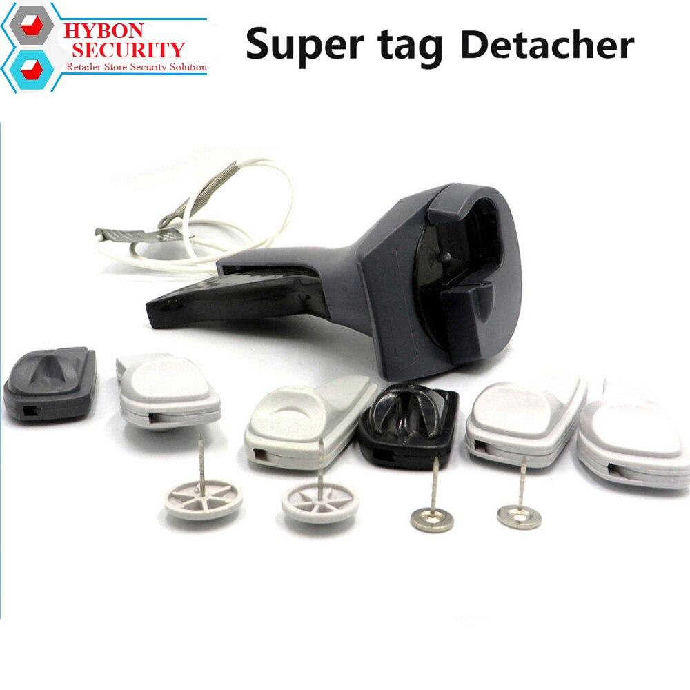 Handheld Tags Gun Detacher AM EAS Clothes Magnet Price Tag Remover Tools