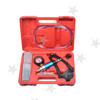 Hand Held Vacuum Pump Brake Bleeder Set Bleed Tester Tool Kit Car Garage