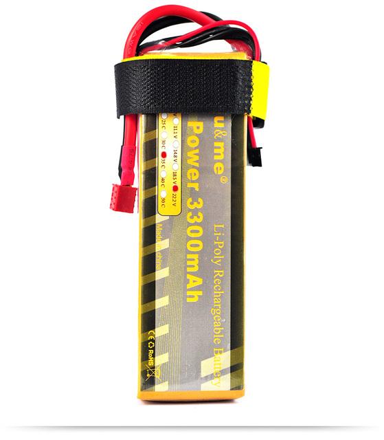 You & me 22.2 v 3300 mah 35c max 70c lipo akku rc batería para el helicóptero de rc quadcopter toys & aficiones