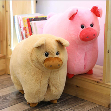 New Style Lovely Pig Plush Toy Stuffed Animal Plush Pillow Pig Doll Toys Birthday Christmas Gift for Children