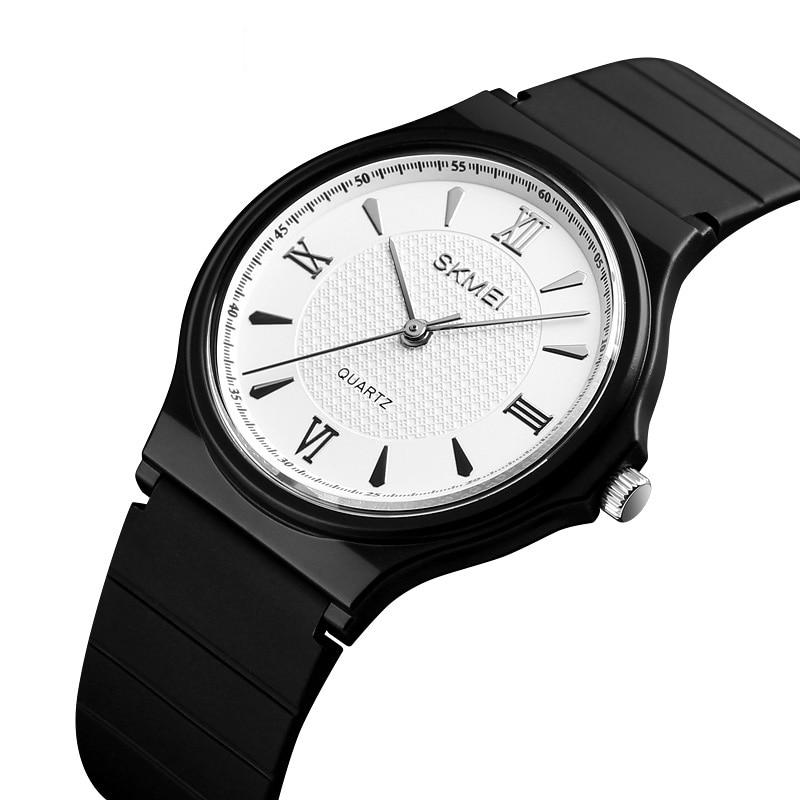 Women's Watch Quartz-watch Unisex Simple Fashion  PU Belt Quartz Wristwatch Ladies Watches Reloj Mujer Montre Femme Clock 1422