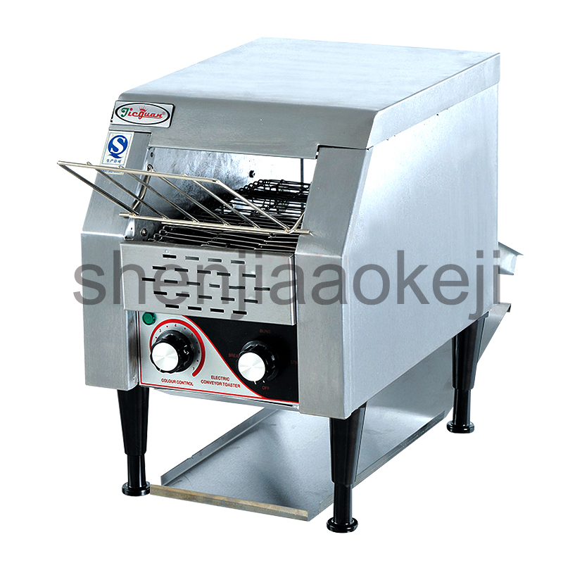 Commercial chain toaster commercial toaster crawler toaster toaster breakfast machine authentic Electric conveyor toster недорго, оригинальная цена