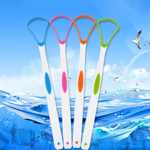 Tongue Brush Tongue Cleaner Cleaning toothbrush remove coating Scraper For Care Oral Hygiene Keep Fresh Breath eco friendly 2pcs pack tongue brush tongue cleaner scraper cleaning tongue scraper for oral care oral hygiene keep fresh breath