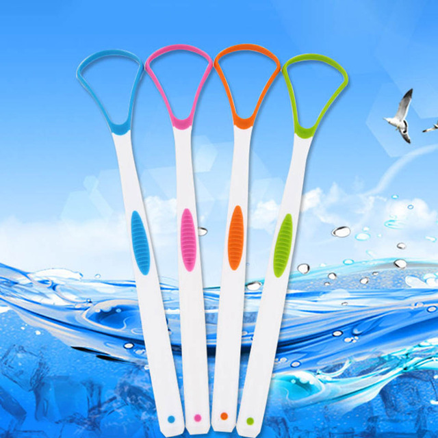 Tongue Brush Tongue Cleaner Cleaning toothbrush remove coating Scraper For Care Oral Hygiene Keep Fresh Breath eco friendly
