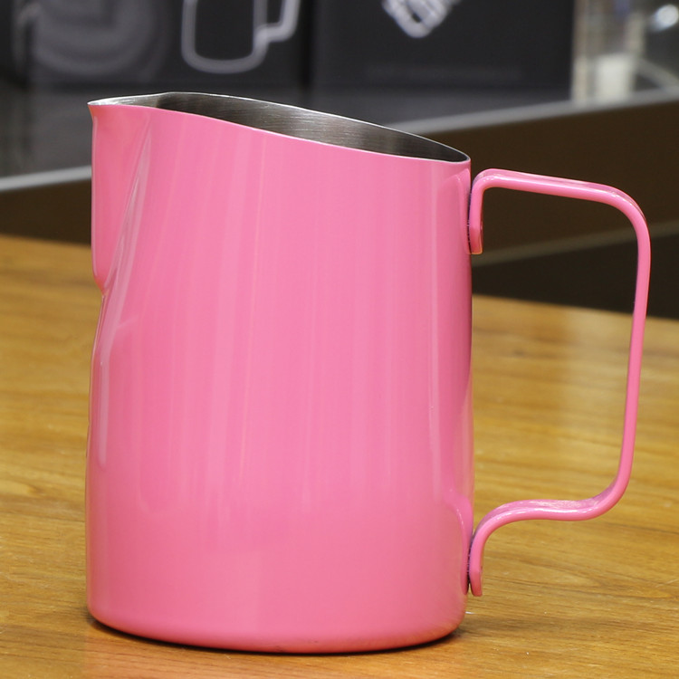 450cc Professional Europa Milk jug / Milk Foaming Jug/milk pitcher/milk jar Luxe coat lattte art pitcher/Latte coffee tool milk