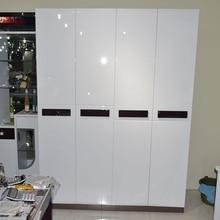 Глянцевая DIY декоративная пленка, ПВХ самоклеящаяся настенная бумага, съемная виниловая контактная бумага для кухонных шкафов, водонепроницаемая настенная бумага