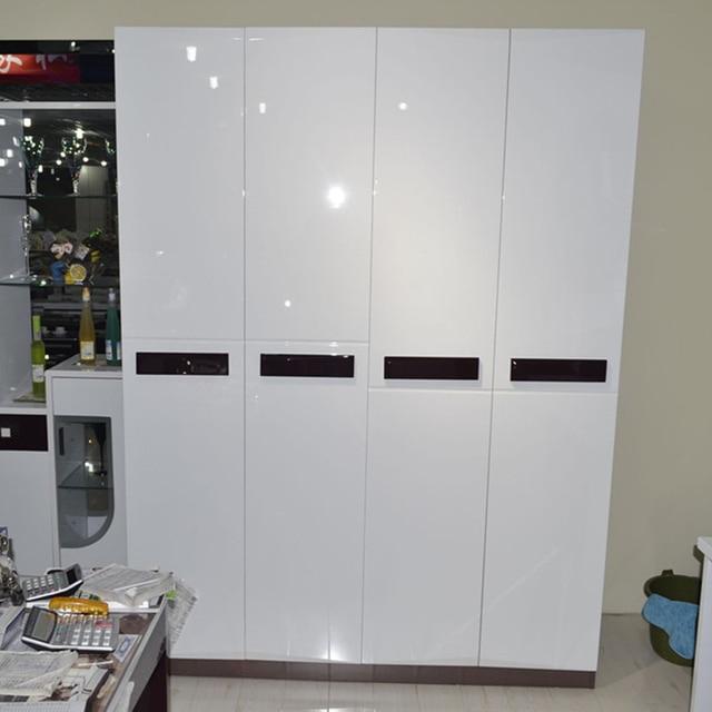 Bon Glossy DIY Decorative Film PVC Self Adhesive Wall Paper Furniture  Renovation Wall Stickers Kitchen Cabinet Waterproof