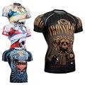 Сжатия Рубашка 3D Печатные Футболки Мужчины С Коротким Рукавом Реглан Косплей Костюм Одежда Мужчины Топы Для Хэллоуина Superhero Супермен