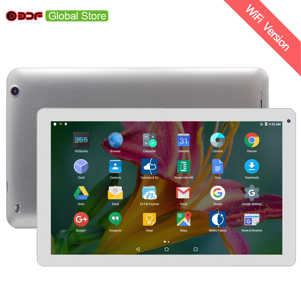 Moscow New 10 inch  Big size Androd 5.1 Tablet Pc 1GB RAM And 32GB ROM Support video FM WIFI Bluetooth Quad Core 8 9 10 11
