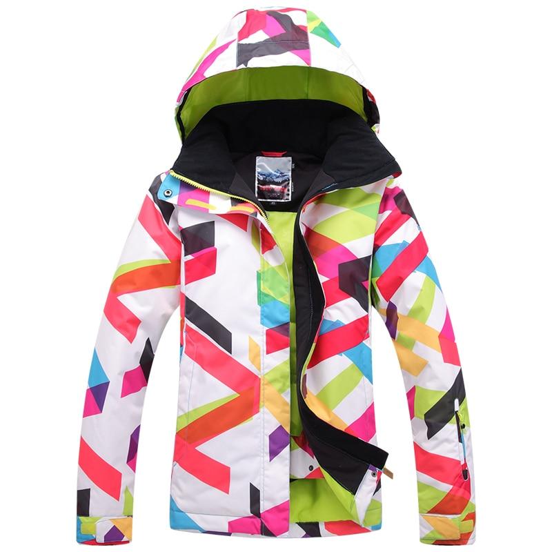2018 Zimní horská bunda dámská nepromokavá lyžařská - Sportovní oblečení a doplňky