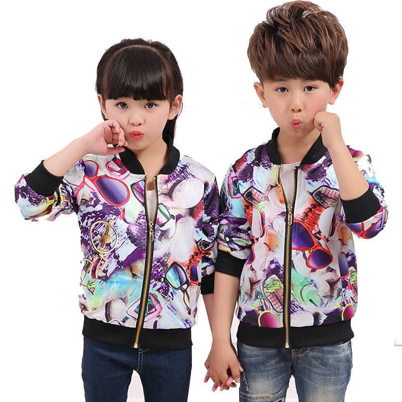 1c97f5963b56 Kids 2017 Spring and Autumn New Boys Girls Korean Fashion Casual ...