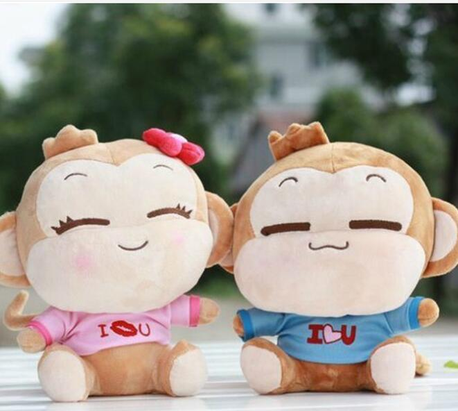 50CM yoyocici Lovers you laugh monkey doll plush toy hiphop Large monkey birthday gift stuffed toys stuffed plush toy large 105 cm plush simulation lying tiger toy doll great gift b0667