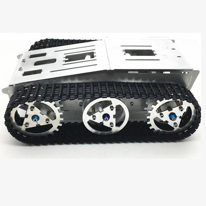 Tank Chassis Smart Intelligent Car Crawler Chassis Crawler Vehicle Tank Vehicle Tank Robot Metal Motor
