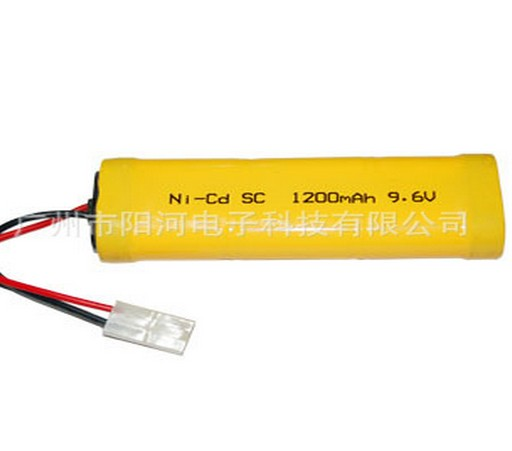 1pc 9 6v Battery Pack 1200mah Sc Ni Cd Nicd Rechargeable 8x For Electric Rc Cars Truck Buggy Tank Boat