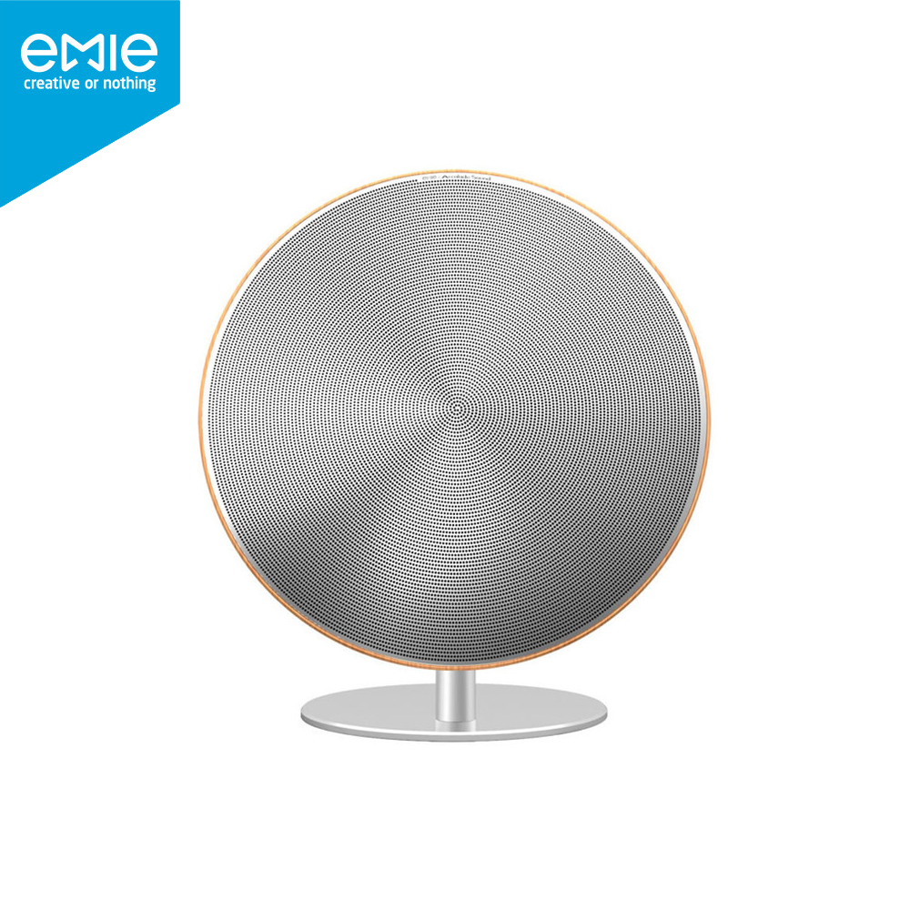 EMIE Solo One Wireless Speaker Subwoofer Bluetooth 4.0 NFC 2.0 Channel Music Player with Touch Surface 3.5mm Audio Plug
