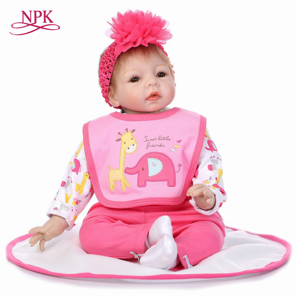 NPK reborn doll with soft real gentle touch lifelike wholesale baby dolls fashion doll with soft PP cotton body все цены