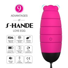 9 Speeds Remote Control G-Spot Usb Recharge Bullet Medical Silicone Wireless Egg Vibrator Vagina Kegel Balls Sex Toys For Woman