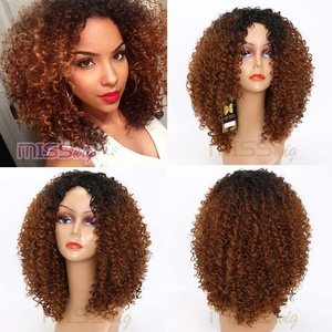 MISS WIG Long Red Black Afro W