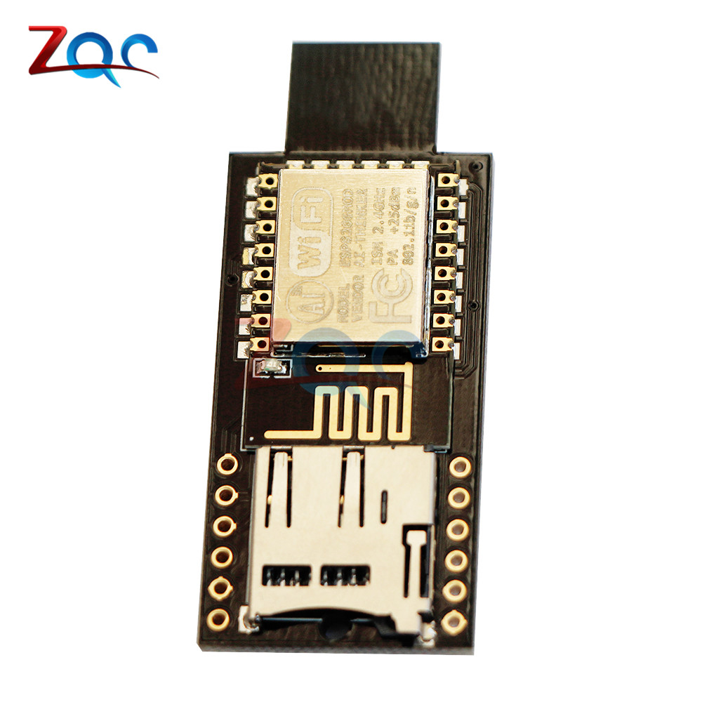 ATMEGA32U4 ESP8266 ESP12E Badusb TF Micro SD Virtual Keyboard Development Board for Arduino transcend ts32gmts400