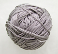 Free shipping 10mtrs/Lot Vintage Grey Silver 3mm Nylon Braide Persian Cord Macrame&Craft Yarn