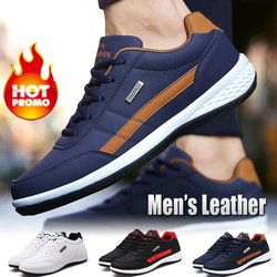 2019 Nova Moda Dos Homens Das Sapatilhas para Homens Sapatos Casuais Respirável Sapatos Lace up Sapatos Casuais Mens Sapatos de Couro Primavera Homens Chaussure homme