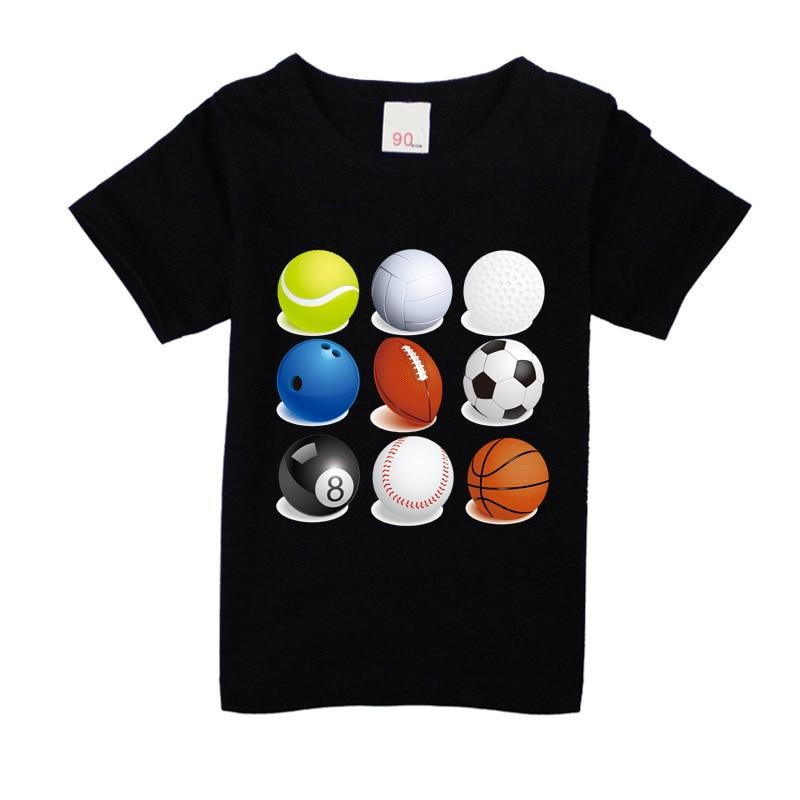 Nuovi bambini Maglietta multicolore unisex 100% cotone ragazzi - Vestiti per bambini